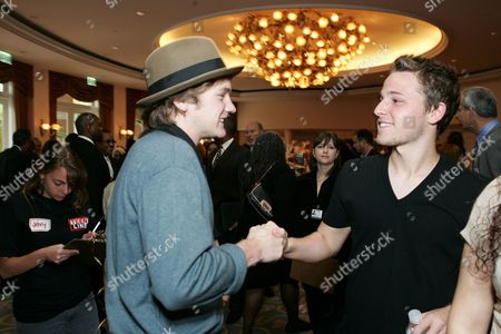 Cody Kasch and Shawn Pyfrom