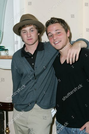 Stock Image of Cody Kasch and Shawn Pyfrom