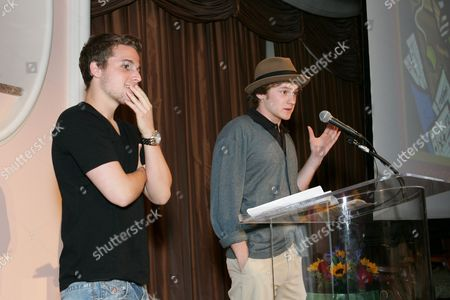 Shawn Pyfrom and Cody Kasch