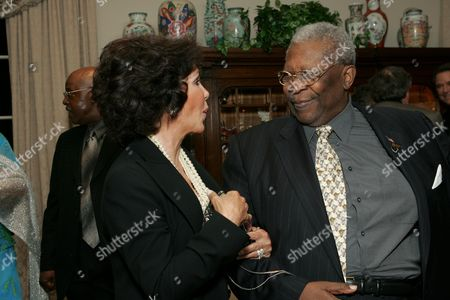 Mary Ann Mobley and B.B. King
