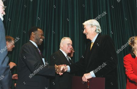 Stock Photo of Brock Peters, Jack Lemmon and Gregory Peck