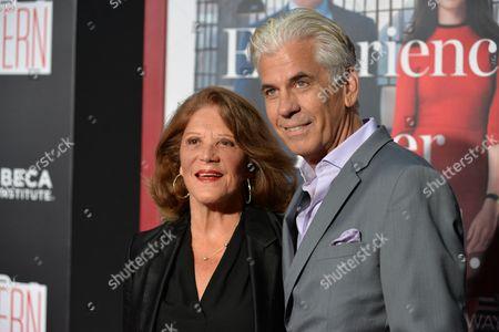 Linda Lavin and Steve Bakunas