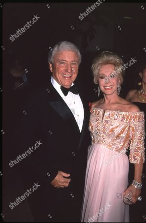 Merv Griffin and Eva Gabor