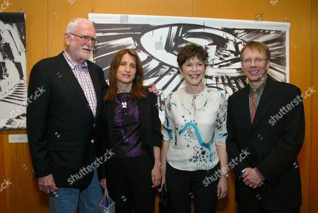 Frank Pierson, Doro Bachrach, Linda Gottlieb & Ron Nyswaner