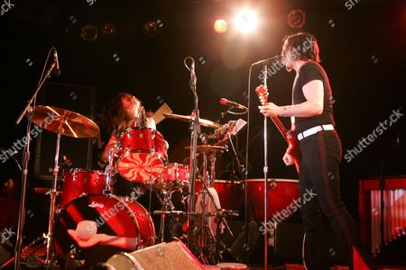 The White Stripes - Meg White and Jack White