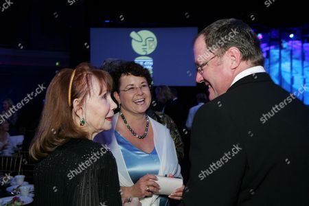 Katherine Helmond, Nancy Lasseter & John Lasseter