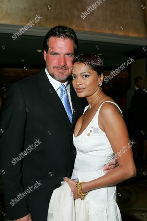 Stock Picture of Michael Amante and guest