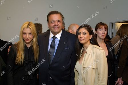 Mira Sorvino, Paul Sorvino and Hedi Khorsand