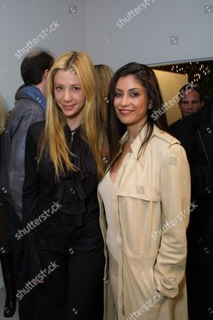 Mira Sorvino and Hedi Khorsand