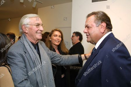 Martin Landau and Paul Sorvino