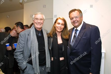 Martin Landau, Laurel Aston and Paul Sorvino