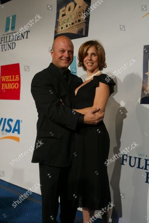 Stock Photo of Michael and Michelle Chiklis