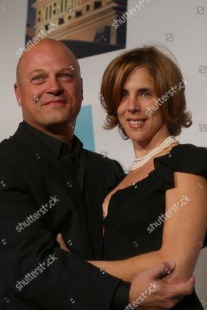 Stock Image of Michael and Michelle Chiklis