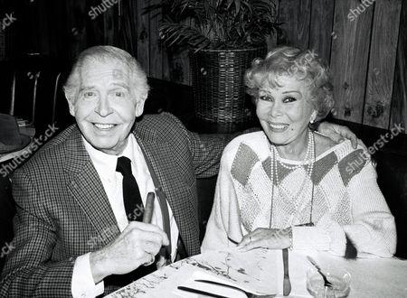 Milton Berle and wife Ruth Cosgrove