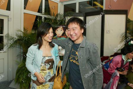 Stock Photo of Ming Na and Gedde Watanabe
