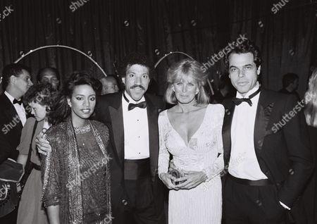 Brenda Richie & Lionel Richie, George Santo Pietro & Linda Evans