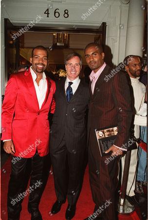 Lloyd Boston, Tommy Hilfiger and Clayton Hunter