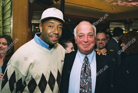 Russell Simmons and Seymour Stein