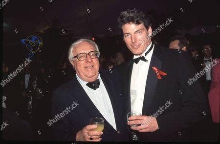 Ray Bradbury and Christopher Reeve