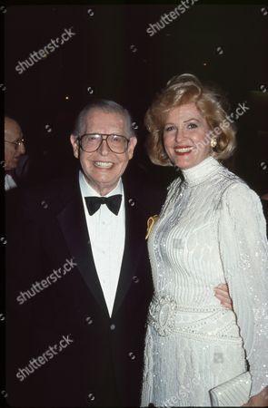 Milton Berle and Barbara Sinatra