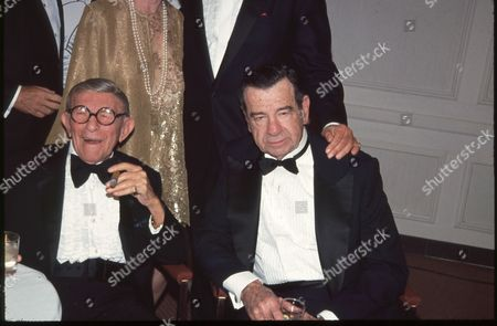 Stock Image of George Burns and Walter Matthau