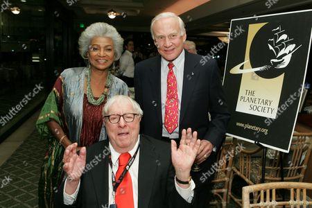 Nichelle Nichols, Buzz Aldrin, Ray Bradbury