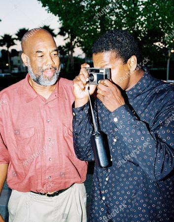Howard Bingham and Denzel Washington
