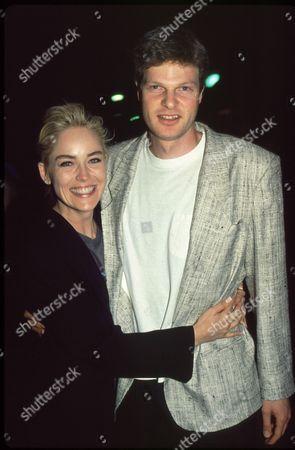 Sharon Stone and Steve Bing