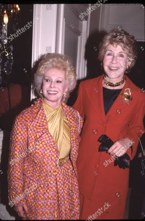 Eva Gabor and Betsy Bloomingdale