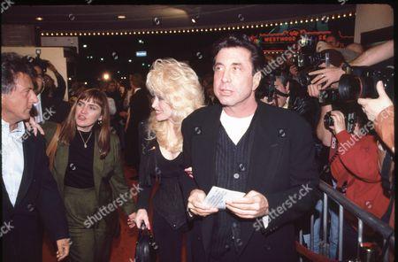 Dolly Parton and Sandy Gallin