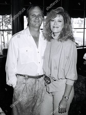 Stock Image of Larry Myers and Nancy Stafford
