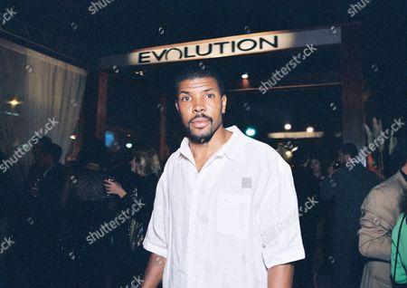 Eriq LaSalle at the Evolution/Latin Grammy Pre Party and Fashion Show.  Photo®Steve Wrubel/Berliner Studio/BEI 20000912    Century City, CA