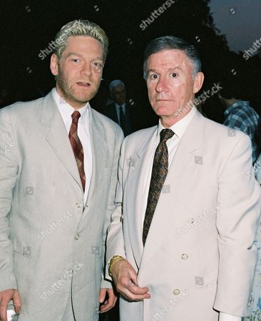 Kenneth Branagh and Roddy McDowall