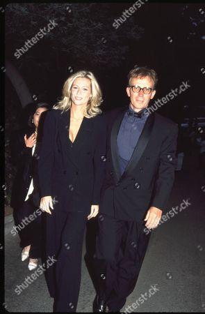 Peter Weller and Alison Doody