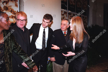 Stock Picture of April Grace, Phillip Seymour Hoffman, Philip Baker and Julianne