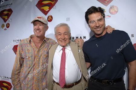 Marc McClure, Jack Larson & Gerard Christopher