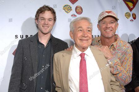 Aaron Ashmore, Jack Larson & Marc McClure