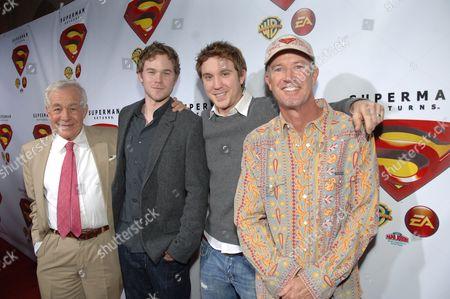Jack Larson, Aaron Ashmore, Sam Huntington & Marc McClure