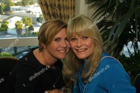 Carrie Fisher and Valerie Perrine
