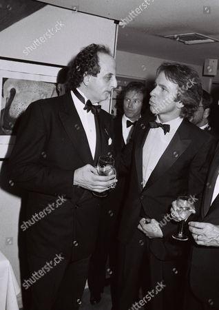 Vincent Schiavelli and John Ritter