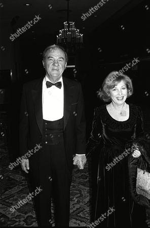Stock Photo of Karl Malden and Mona Malden