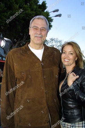 Phil Jackson and girlfriend, Jeanie Buss