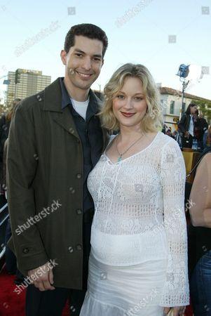 Teri Polo and husband Tony Moore