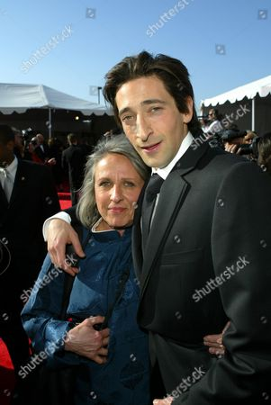 Sylvia Plachy and Adrien Brody