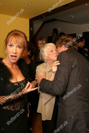 Kathy Griffin, Maggie Griffin and Andy Dick