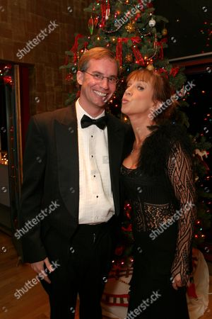 Stock Photo of Dennis Luciani and Kathy Griffin
