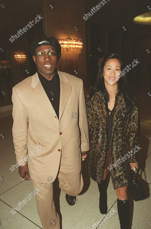 Wesley Snipes and his date Donna Wong