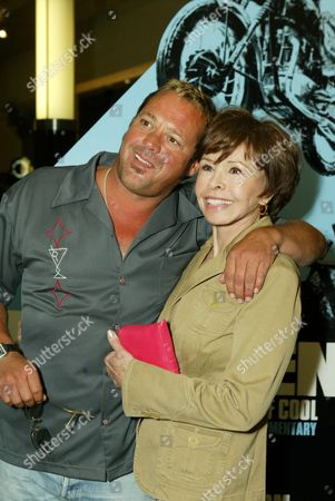 Chad McQueen and Neile Adams McQueen