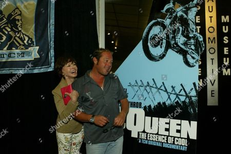 Neile Adams McQueen and Chad McQueen