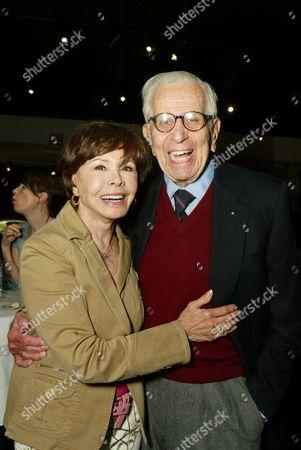 Neile Adams McQueen and Walter Mirisch